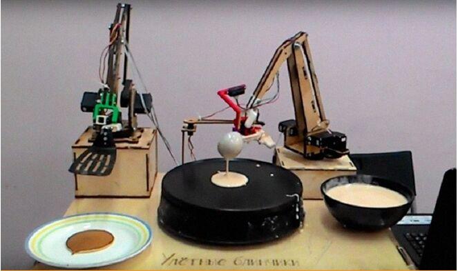 会烙饼的机器人来了