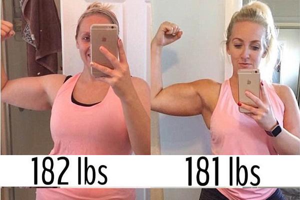 只减一斤变辣妈!美31岁女子体型发生惊人变化