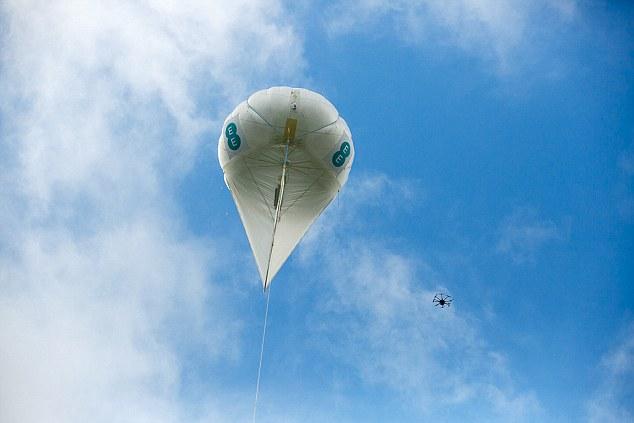 英电信公司将尝试用无人机和气球发射4G信号