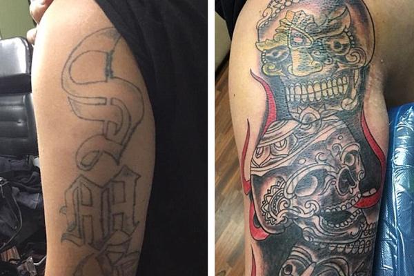美纹身店为前黑帮成员免费纹身 助他们摆脱过去