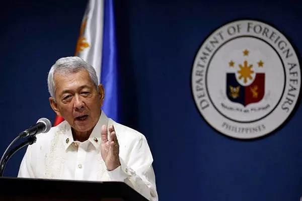 菲律宾外长:菲律宾对南海争议岛屿并不拥有所有权