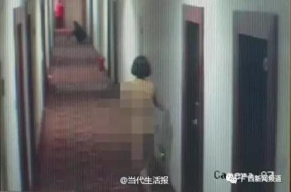 情侣酒店吸毒后裸奔 女子以为房门是镜子化妆脱衣
