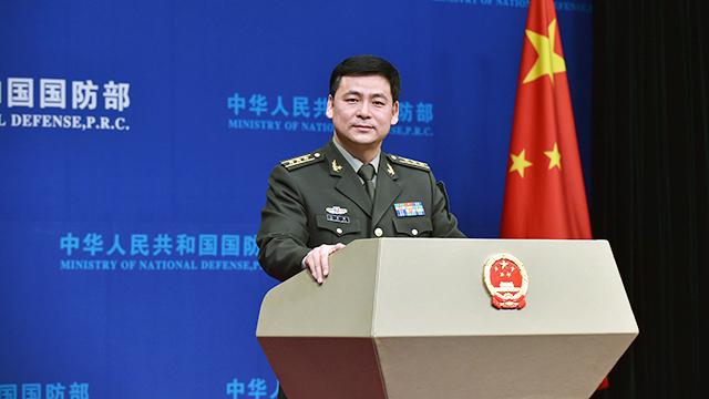 """国防部:""""中国军队增兵中朝边境""""报道纯属捏造"""