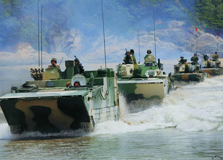 陆军两栖部队将转为海军陆战队?国防部回应