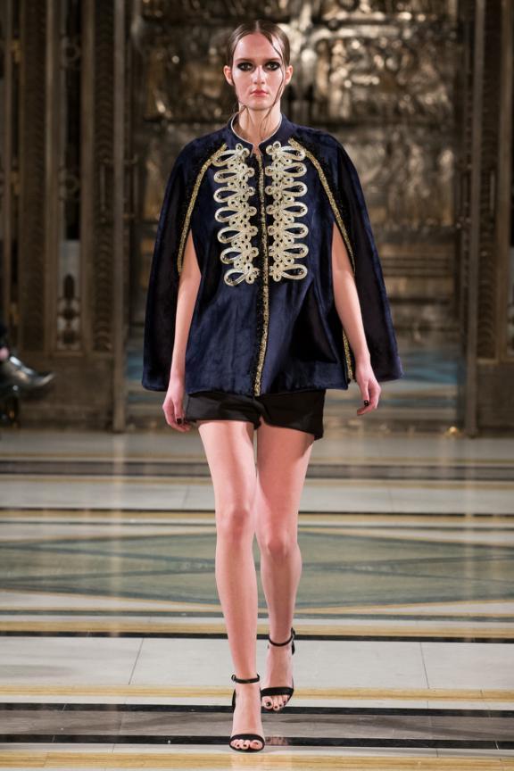 设计师虞歌品牌ANNDERSTAND登陆17伦敦时装周