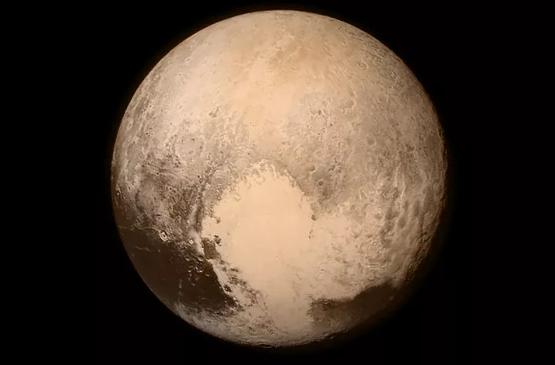 """""""新视野号""""团队提交为冥王多种地形及其卫星命名的官方主题"""