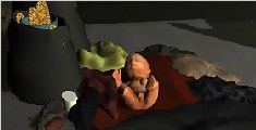 男婴被狗咬掉手指撕破耳朵