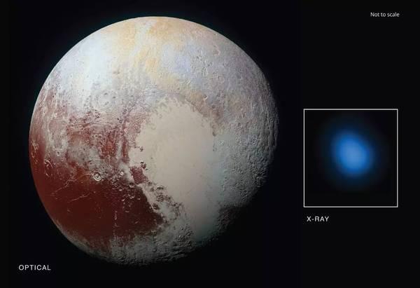 天文学家发现冥王星在释放神秘低能量X射线