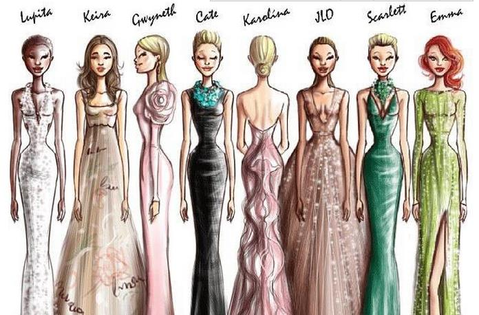 奥斯卡史上 和最佳女主角一样著名的 70 条美裙