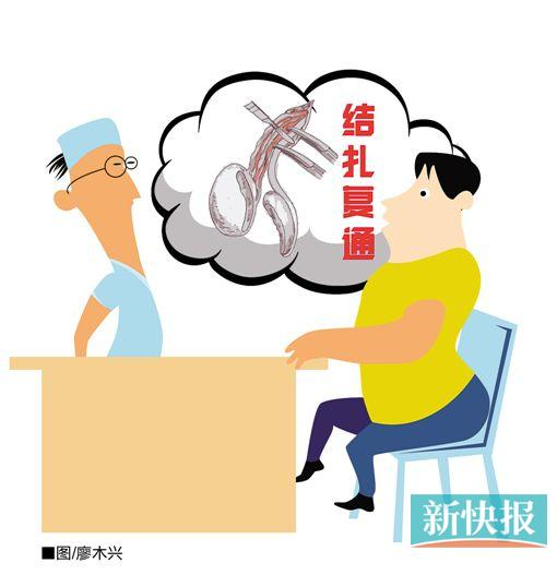 """""""全面二孩""""政策实施后 广东结扎复通男士暴增"""