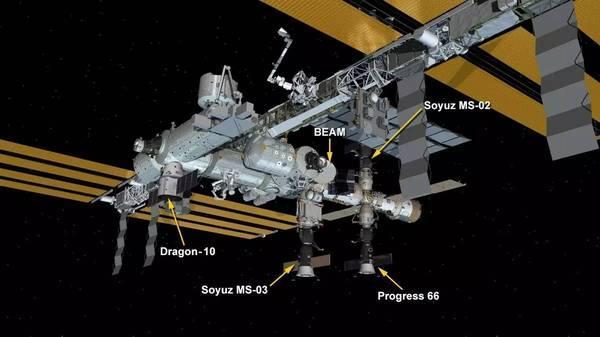 天地通联:空间站的快递到了