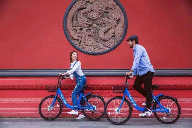 共享单车激战正酣 小蓝单车挺进京城