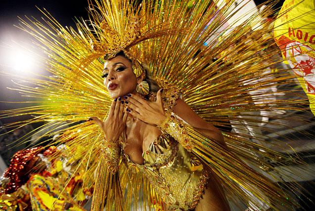 环球图片一周精选 巴西狂欢节热辣开幕