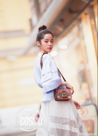 米兰时装周归来,欧阳娜娜整装待发赴约上海