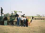 中俄坦克巴沙漠竞标秘照曝光