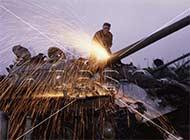 东欧国家90年代拆除老苏制坦克