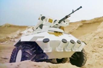 乌克兰这款战斗机器人颜值不低