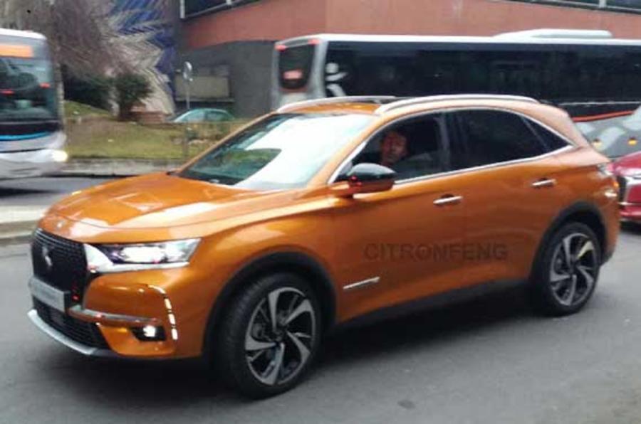 DS 7 Crossback中型SUV将亮相日内瓦 剑指奥迪Q5