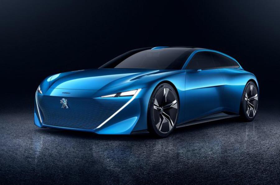 标致Instinct电动概念车预告图发布 将亮相日内瓦