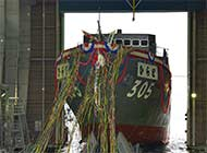日本最新扫雷舰下水明年交付