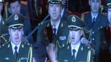 中俄军人同台唱响红旗歌舞团总部