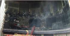 江西酒店火灾确定已致2死14伤 2名工人被控制