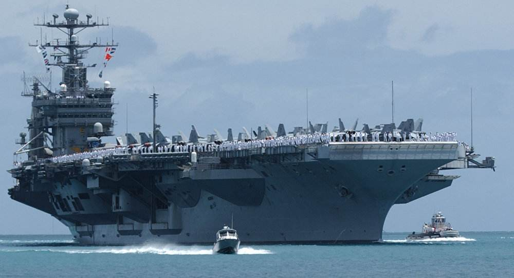 特朗普要把军费飙升540亿美元,中国跟不跟?