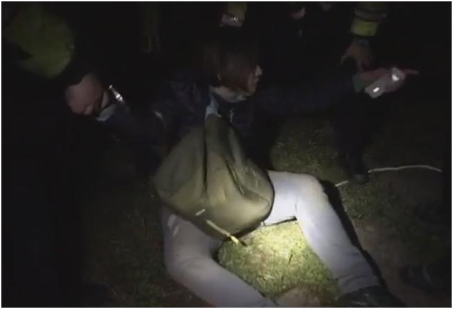 台湾228: 大学生欲拆除蒋介石像 遭逮捕