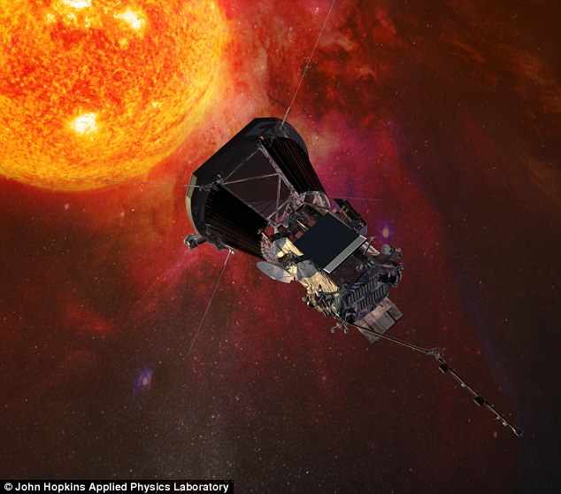 NASA计划发射太阳探测器 为史上离太阳最近
