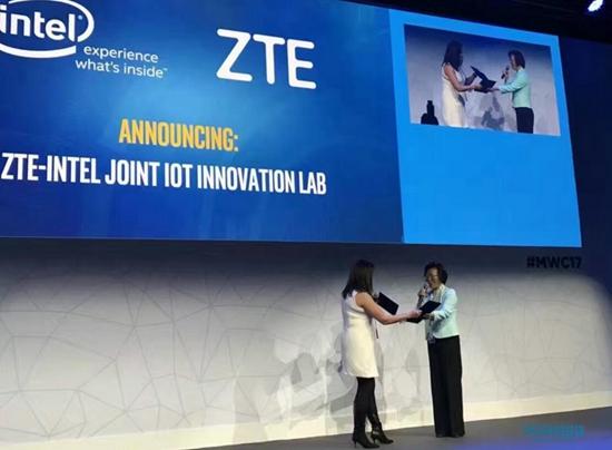 中兴通讯与Intel签订IoT创新实验室合作协议