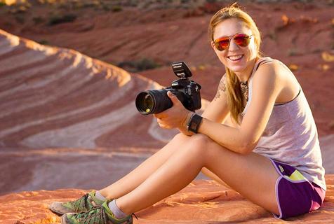 美女子辞职旅游拍摄沿途绝美照片