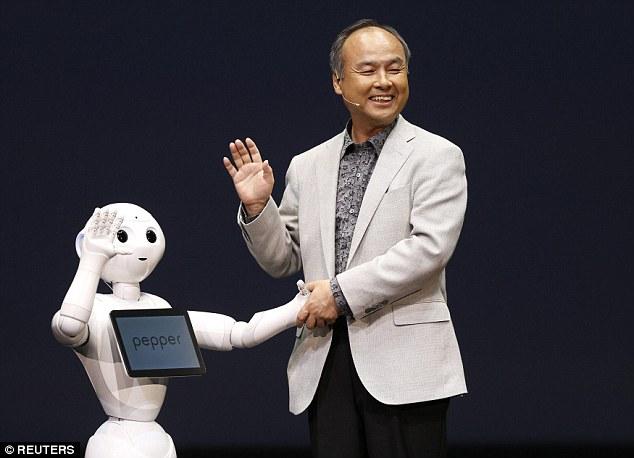 孙正义:未来30年智能机器人将比人类多40亿