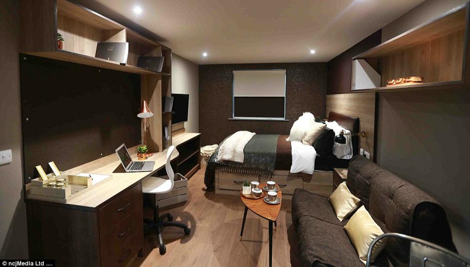 英国大学学生公寓装修精美设施齐全堪比豪华酒店