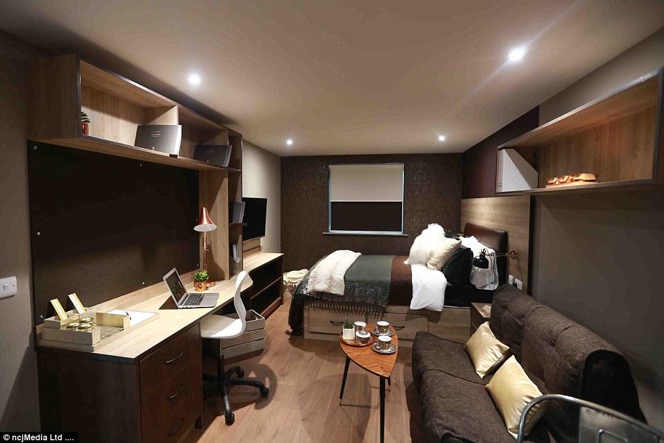 英国大学公寓装修精美设施齐全堪比豪华酒店