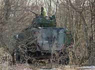 爱沙尼亚装甲运兵车藏得真深