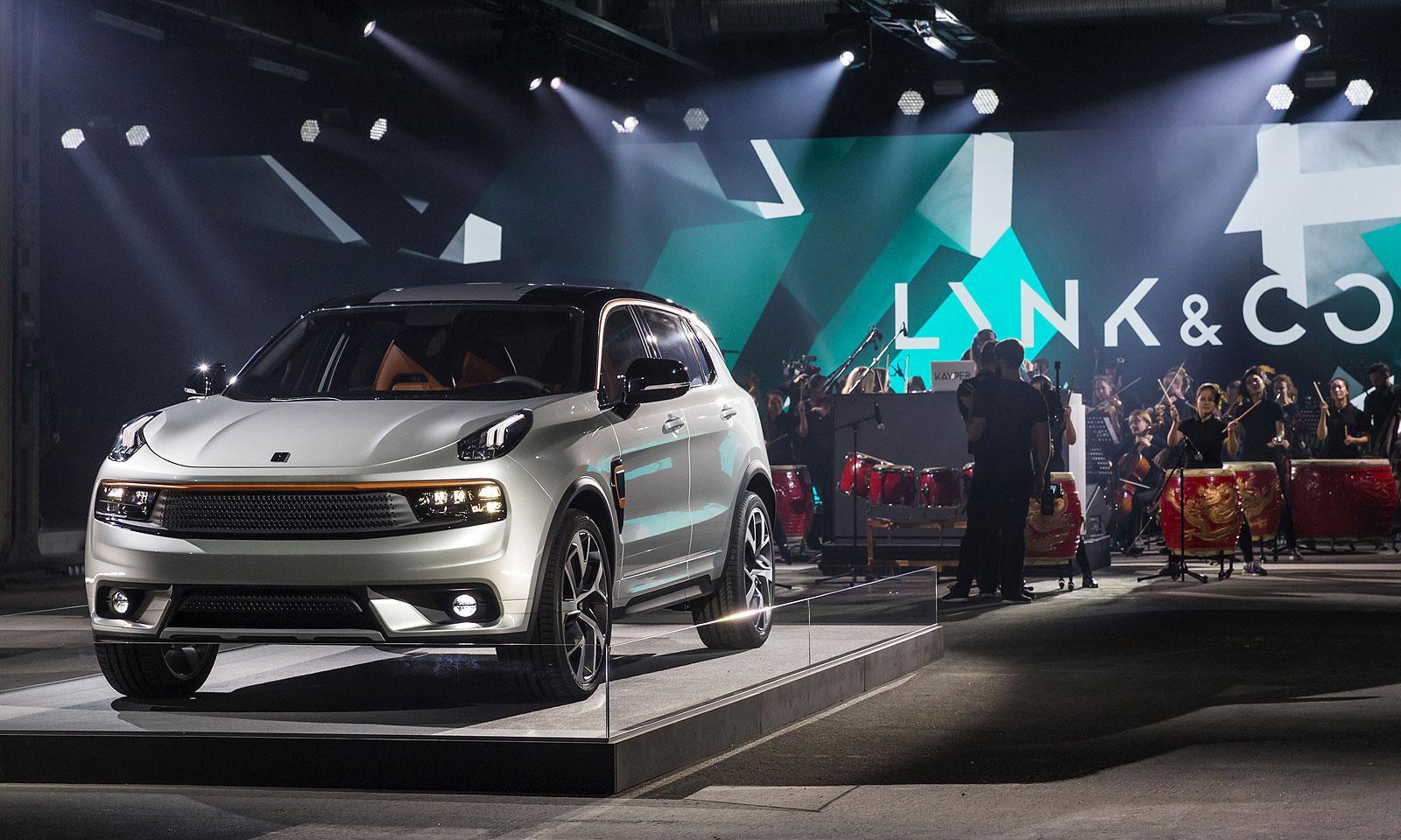 吉利子品牌Lynk & CO将携首款车亮相上海车展