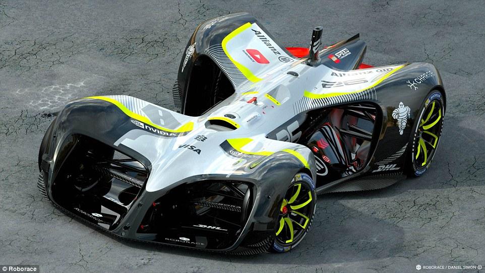 全球首款无人驾驶赛车发布 时速可达320公里