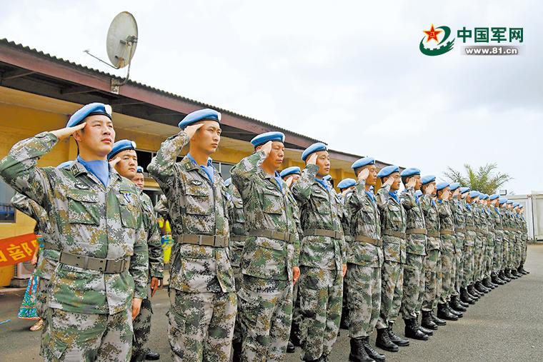 历时13年,中国最后一批赴利比里亚维和官兵回国
