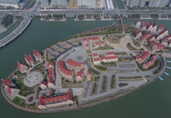 苏州人工岛荒废10年 曾规划CBD建高端商铺