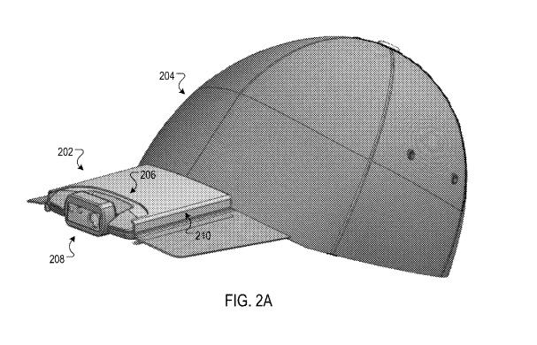 谷歌新专利曝光再进可穿戴领域 能拍照的帽子