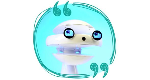 """""""表情包""""机器人能教孩子们学外语 提供新奇体验"""
