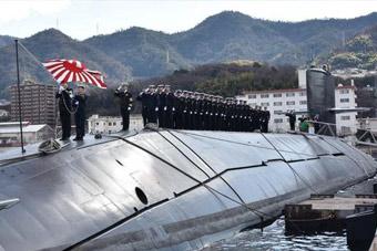 日本最后一艘春潮级潜艇退役