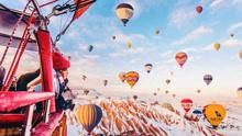 俄摄影师拍如梦如幻热气球照片 获网友好评如潮