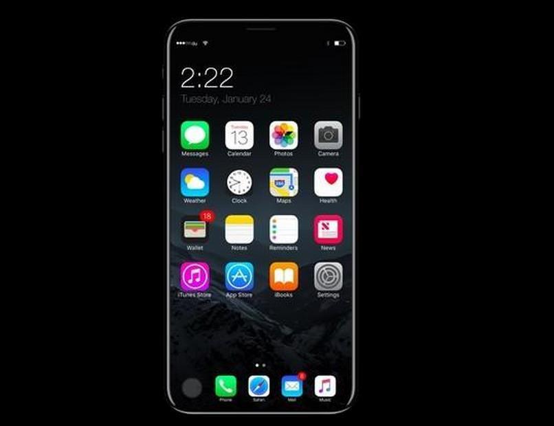 真机会这样?iOS 11的iPhone 8概念机曝光