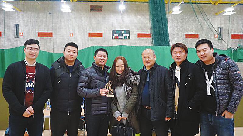 格拉斯哥华裔篮协举办第二届苏格兰红辣椒迎春赛