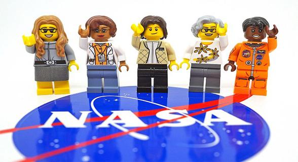 乐高将推出5位NASA女性形象玩具人物
