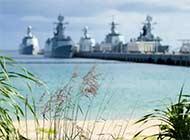 让人震撼的美!水兵眼中的南海