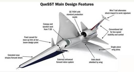 重返蓝天?NASA被曝研发超音速客机