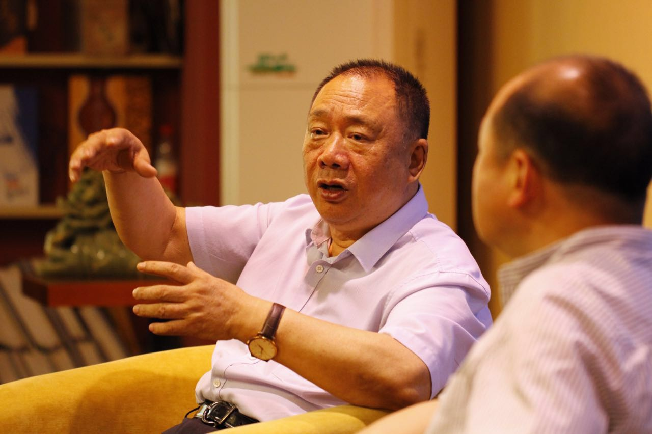 杨建国:用《老杨会客厅》讲好河南发展故事