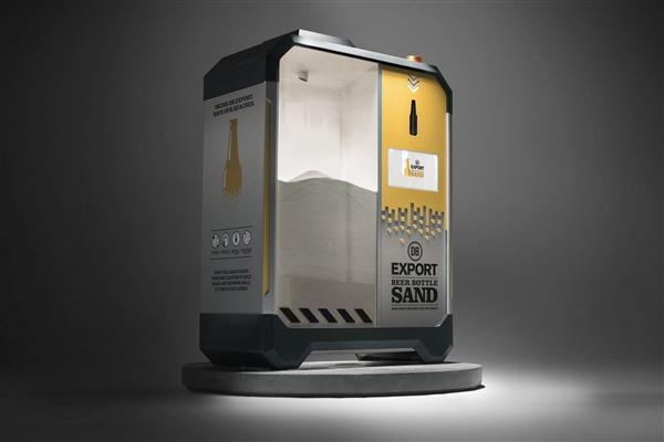 新西兰收集啤酒瓶制作工业用砂:拯救急剧退化的海滩